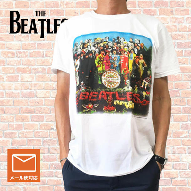 b181ccf68 Lock T-shirt band T-shirt The Beatles the Beatles Sgt Peppers vintage print  ...