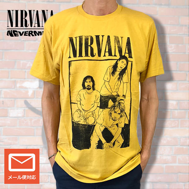 efcda5445 [NIRVANA] Nirvana The American band which represents グランジ. It is very  popular after a debut in
