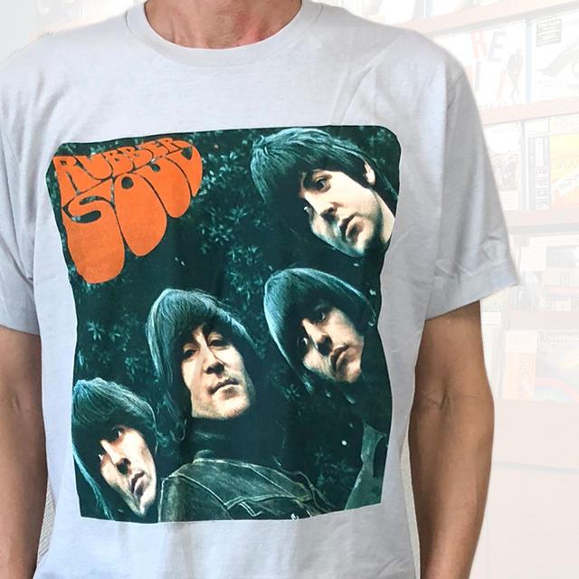 4d970b709137 tab11: The Beatles Beatles T-shirt RUBBER SOUL rubber Seoul gray ...