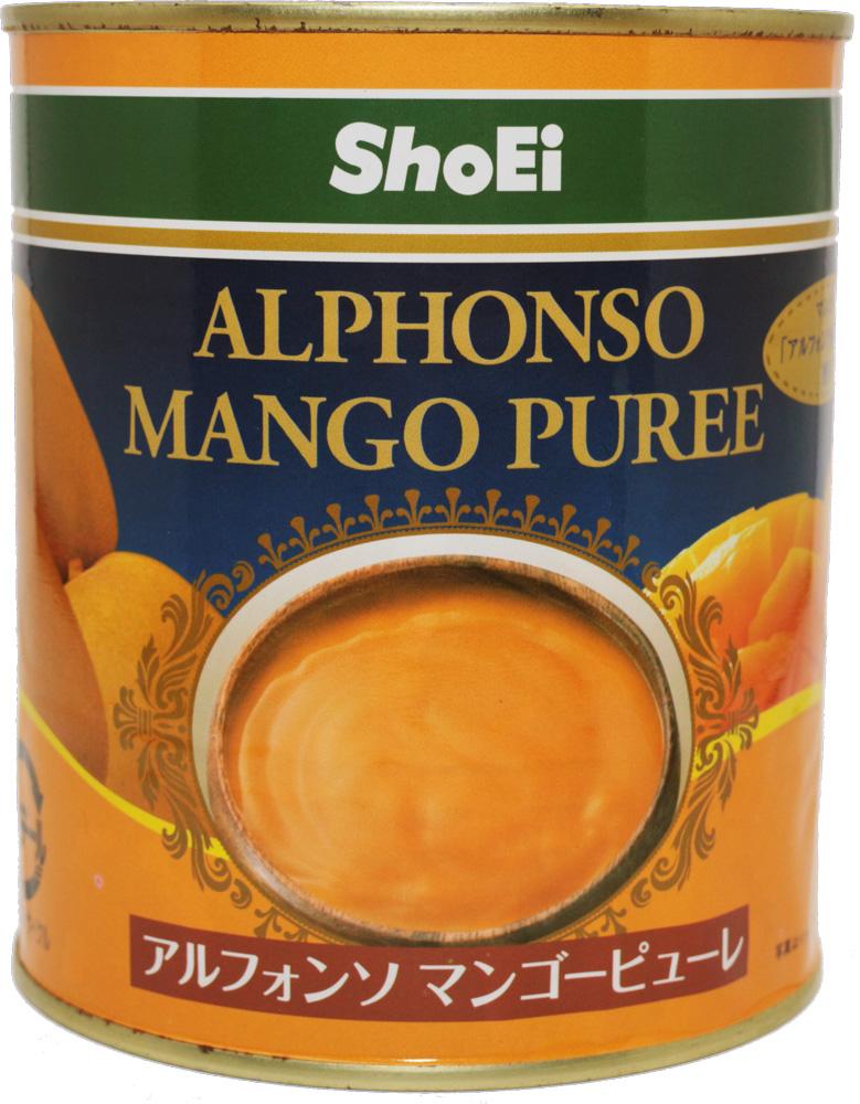 しっかりとした味のマンゴーピューレ 世界美食探究 アルフォンソ マンゴーピューレ 2号缶 850g 正栄食品工業 大特価 高品質 お得 PUREE 低価格 MANGO