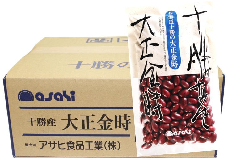 金時豆 流通革命 北海道十勝産 大正金時 250g×20袋×10ケース 【北海道産 業務用販売 BTOB 小売用 アサヒ食品工業 】
