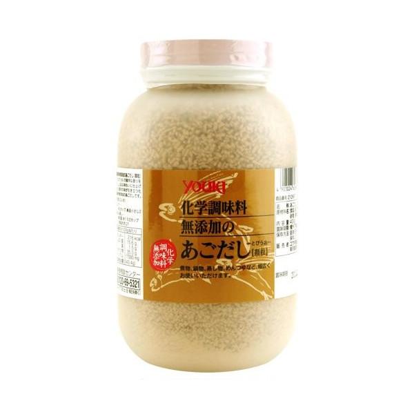 ユウキ食品 化学調味料無添加のあごだし 400g ×12個  【YOUKI 顆粒 マコーミック 和風だし 和食 業務用 ケース販売】