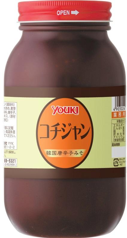 ユウキ食品 コチジャン 1kg×12個  【YOUKI 韓国調味料 コチュジャン 唐がらしみそ 辛味噌 辛みそ】