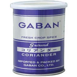 GABAN コリアンダーパウダー(缶) 220g   【スパイス ハウス食品 香辛料 粉 業務用 Coriandre こえんどろ】