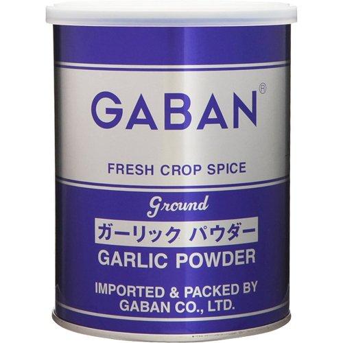 GABAN ガーリックパウダー(缶) 225g×12個   【スパイス ハウス食品 香辛料 パウダー 業務用 にんにく】