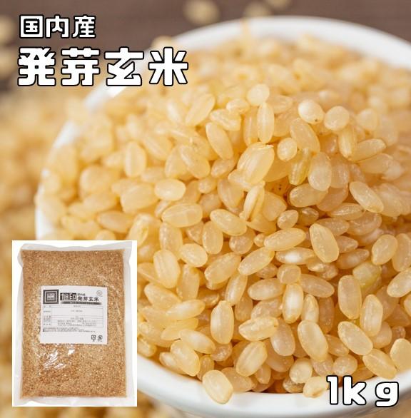 即出荷 北海道産玄米を使用 発芽玄米 1kg 現金特価 豆力 こだわりの北海道産 玄氣 発芽米 玄米 無洗米タイプ
