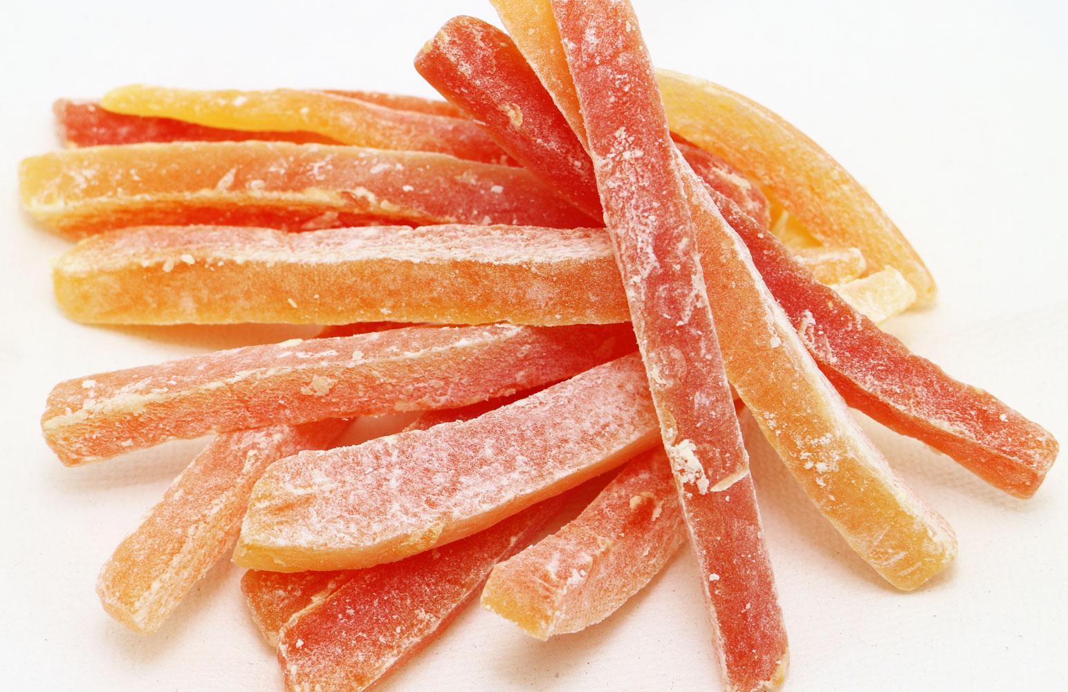 世界美食探究 タイ産 パパイヤスティック 1kg 【ドライパパイヤ ドライフルーツ 南国果実】