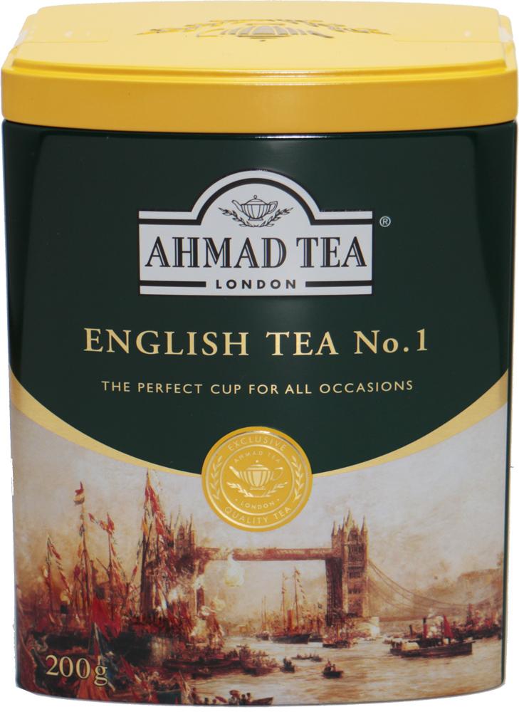 ☆ アーマッドティー おしゃれ ふんわりベルガモットの香り 世界美食探究 AHMAD TEA イングリッシュティーNo.1 200g 商い リーフティー