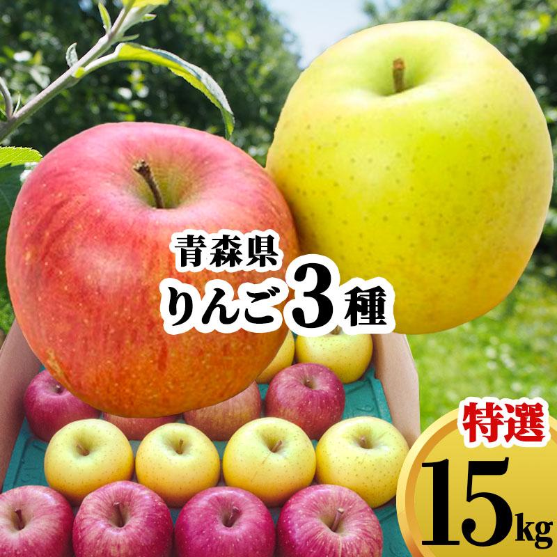 減農薬 放射線検査済み 減農薬りんご 詰め合せ 15kg 青森県 ギフト 赤りんご 青りんご 優秀 林檎 贈り物 さんふじ プレゼント おまかせ 安心の定価販売 お見舞い 送料無料 農家直送 リンゴ 蜜入り 15キロ のし対応