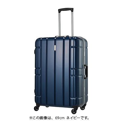 【クーポンでお得!】 HIS スーツケース アリマックス キャリーケース AliMaxG 【65.5cm】D260 ネイビー(旅行用品 スーツケース フレームタイプ Lサイズ 大型 4輪 TSAロック ポリカーボネート 軽量 5~7泊 長期旅行 家族旅行)