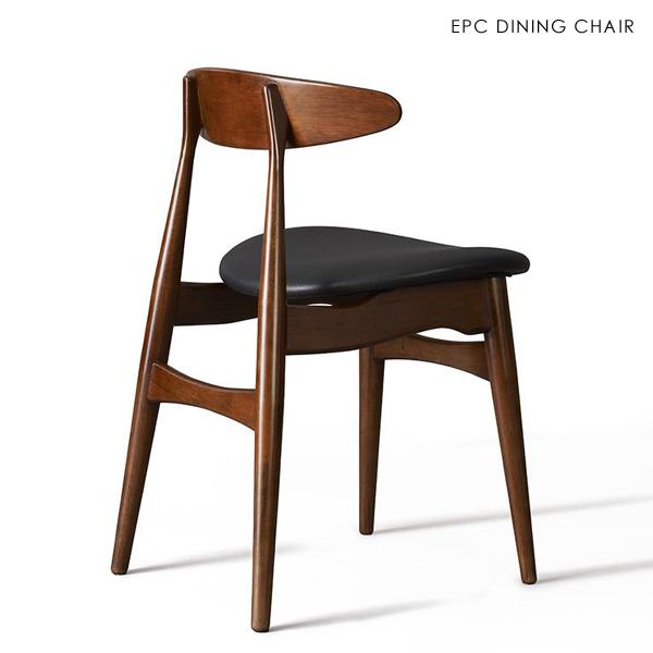 ■ EPC 1脚単品 ダイニングチェアー■ 約幅52 奥行50 高さ74 座面高47cm■ 送料無料 エリア条件ありチェアー ダイニングチェア 椅子 北欧 食卓椅子ミッドセンチュリー おしゃれ シンプル かっこいい