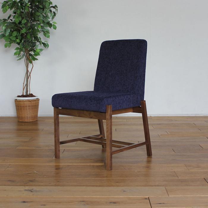 LIVWOOD商品名| エルダ ダイニングチェア 肘なしカラー| ブラウン ウォールナットサイズ| 幅 490 奥行 562 高さ 790 mm生産国| 国産 日本製張り地| Aランク北欧 食卓椅子