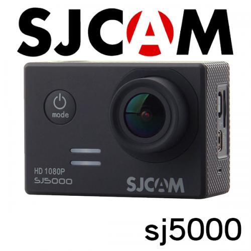 ■SJCAM SJ5000 1080P ブラック GOPROにも負けない防水アクションカメラ ドライブレコーダー カーマウント、バイクマウント込 海やスポーツ、自転車に!