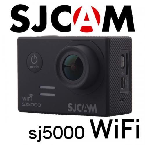 ■SJCAM SJ5000 WiFiモデル 1080P ブラック GOPROにも負けない防水アクションカメラ ドライブレコーダー カーマウント、バイクマウント込 海やスポーツ、自転車に!