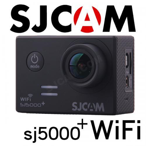 ■SJCAM SJ5000 Plus WiFiモデル 1080P ブラック GOPROにも負けない防水アクションカメラ ドライブレコーダー カーマウント、バイクマウント込 海やスポーツ、自転車に!