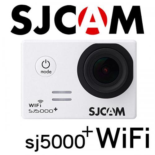 ■SJCAM SJ5000 Plus WiFiモデル 1080P ホワイト GOPROにも負けない防水アクションカメラ ドライブレコーダー カーマウント、バイクマウント込 海やスポーツ、自転車に!