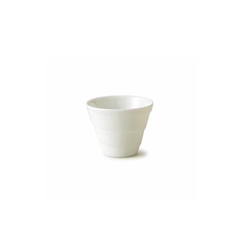 光があたるときれいなラインがうっすら浮かび上がる スパイラルカップ S アウトレット含む 日本製 皿 おしゃれ お皿 食器 かき氷カップ お得なキャンペーンを実施中 アウトレット 磁器 公式ショップ フリーカップ 酒器 白い食器 アイス 冷酒器 白