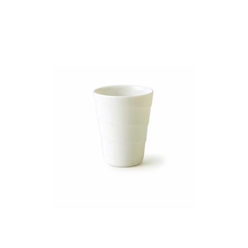 匠の技術が光る白いカップ スパイラルカップ 細長 L アウトレット含む 日本製 皿 おしゃれ お皿 食器 アイス 白 フリーカップ アウトレット 白い食器 磁器 オンライン限定商品 新作 人気 かき氷カップ カップ