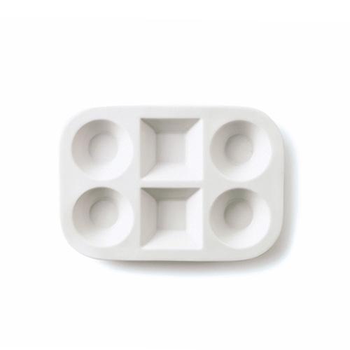 6品仕切り 少量多品種盛りでばっちり健康管理 当窯完全オリジナルの仕切り皿です^0^ RSラウンドスクエア 6プレート 代引き不可 アウトレット含む 日本製 磁器 六品皿 白い食器 パーティープレート 白 食器 業務用食器 通常便なら送料無料 6つ仕切り皿