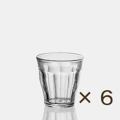 特別セール グラスの定番ピカルディ ポイント5倍 期間限定 最新アイテム デュラレックス ピカルディー 商店 160ml 6個セット DURALEX グラス ガラス おしゃれ オシャレ 業務用 コップ 食器 カフェ
