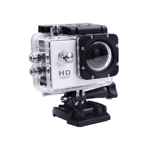 ■HD液晶搭載 GOPROにも負けない スポーツカメラ SJCAM SJ4000 ブラック 【ドライブレコーダー機能 防水カメラ 自転車 動画】