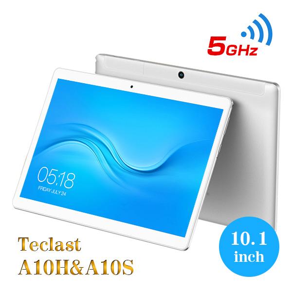 【10.1インチ 10.1型】Teclast A10H&A10S 10.1インチ MT8163 Android7.0 BT搭載【タブレット PC 本体】