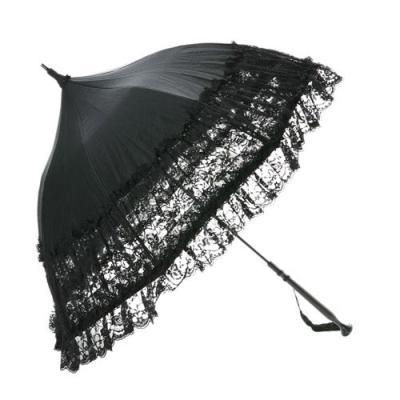 豪華レース♪パコダ型のタッセル付き日傘