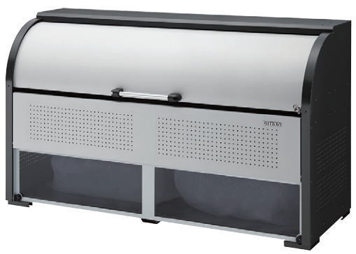 ダイケン クリーンストッカー CKR-1907-2A型 リサイクルボックス ゴミ箱 屋外 ゴミステーション