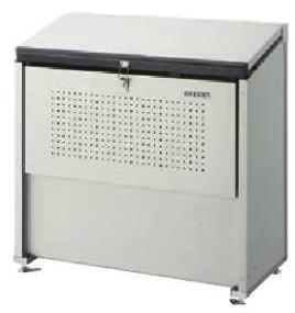 奥行520mmの省奥行タイプ 高耐久の溶融亜鉛メッキ鋼板を使用 ゴミステーション ダストボックス ダイケン クリーンストッカー 屋外 春の新作続々 ゴミ箱 お買い得 ゴミ収集庫 CKE-1005M型 スチール製