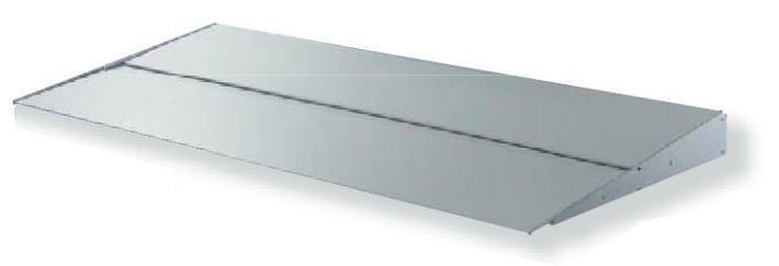 ブラケット式で簡単施工 ご希望の幅寸法Wをご指定下さい ダイケン SALE アールエスバイザー RS-MS60型 幅1701~2000mm DAIKEN アルミ軽量ひさし VISOR RS オーダー品 当店は最高な サービスを提供します 庇