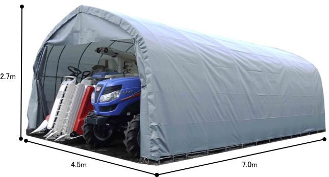 南栄工業 パイプ倉庫 GR-98