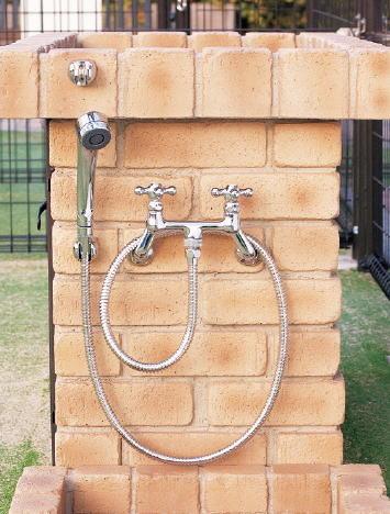 nikko シャワー用水栓金具(カランパイプ無し)PF-S9-M(混合栓)