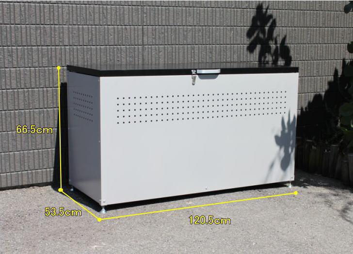 スチール製 AL完売しました。 粉体塗装で強度があり 熱や汚れに強いダストボックス ダイマツ ダストボックス 新作からSALEアイテム等お得な商品満載 DB-120 屋外 ゴミ箱 ゴミステーション リサイクルボックス 倉出し