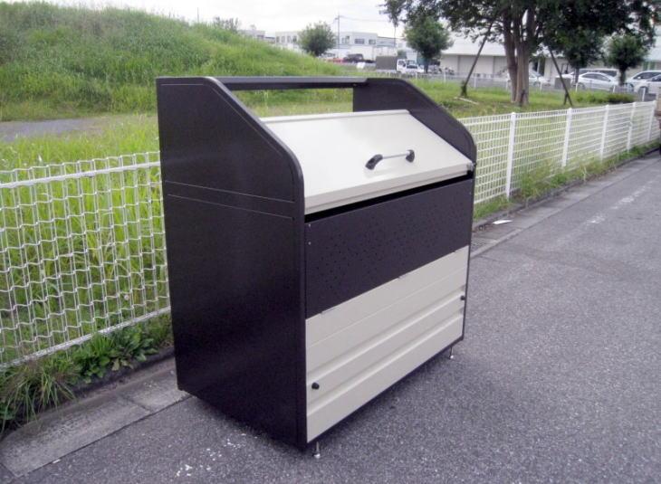 サンキン 高耐久ゴミボックス SGB-S1000 折れ戸式 リサイクルボックス ゴミ箱 屋外 ゴミステーション