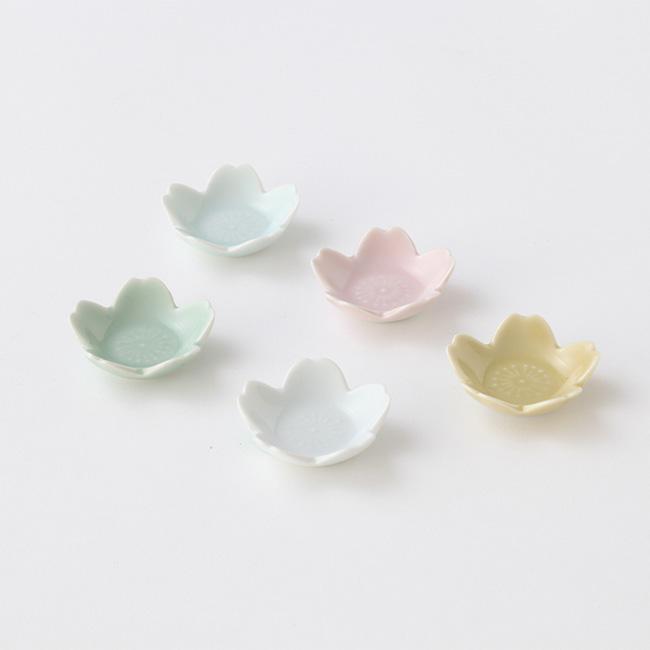桜 箸置き 豆皿 セット たち吉 1005030006 箸置豆皿 5個 さくら レビューを書けば送料当店負担 春のギフト 35%OFF