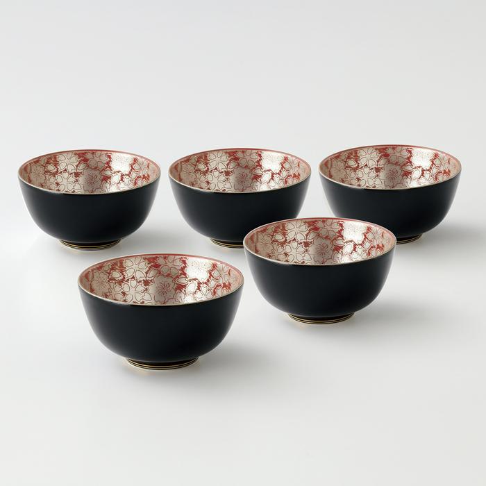 送料無料 和食器 たち吉 青嵐 銀彩桜 お茶呑茶碗(桐) 018-0716 たちきち