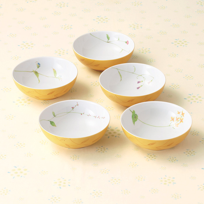 Our Gil porcelain flower Bowl fs3gm