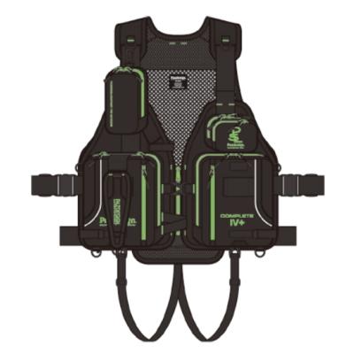 パズデザイン コンプリート4+ ブラックグリーン フローティングベスト コンプリート4プラス  SLV-028 【納期3~11日】