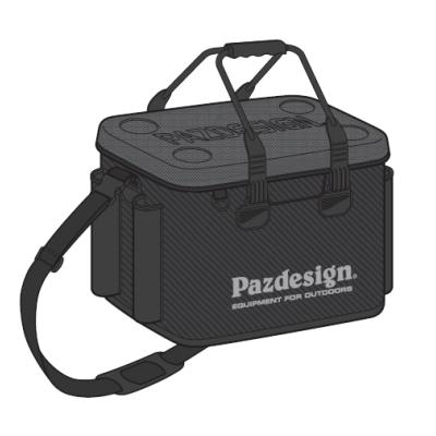 パズデザイン PAC-294 PSL バッカン5 ブラック/シルバー 【 Lサイズ 】 【 タイプB 】 【納期3~11日】