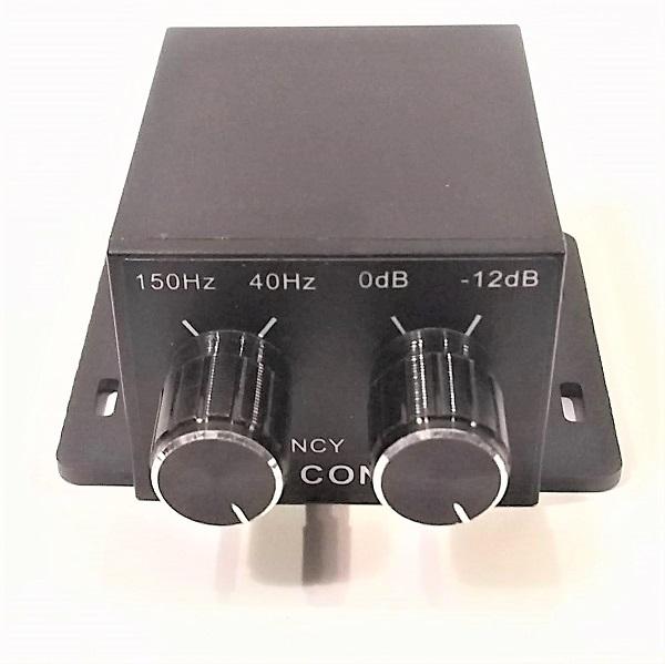 セール オーディオコントロール イコライザー FREQUENCYとGAIN CONTROL 買収 BASS RCA入出力