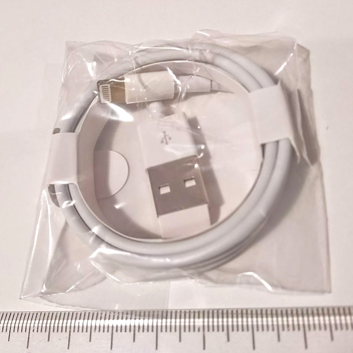 iphone ライトニング Lightningコネクタ - 即出荷 高級 1m 白 純正品質 USBケーブル