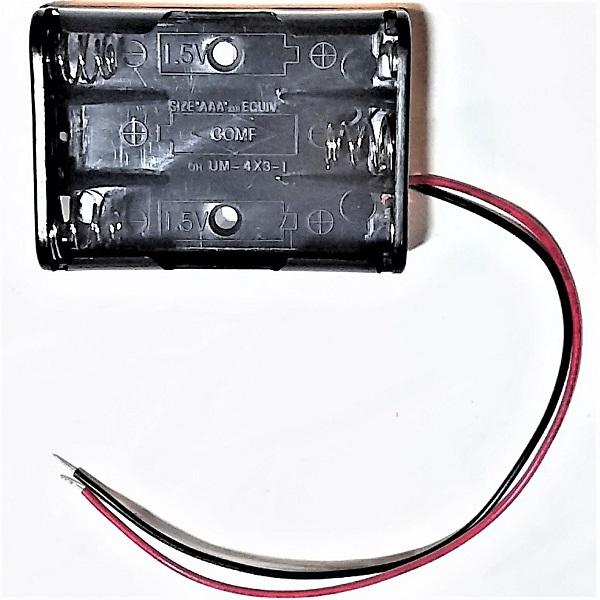電池BOX 電池ボックス 単4×3本用 新作入荷!! 蓋なし 新入荷 流行
