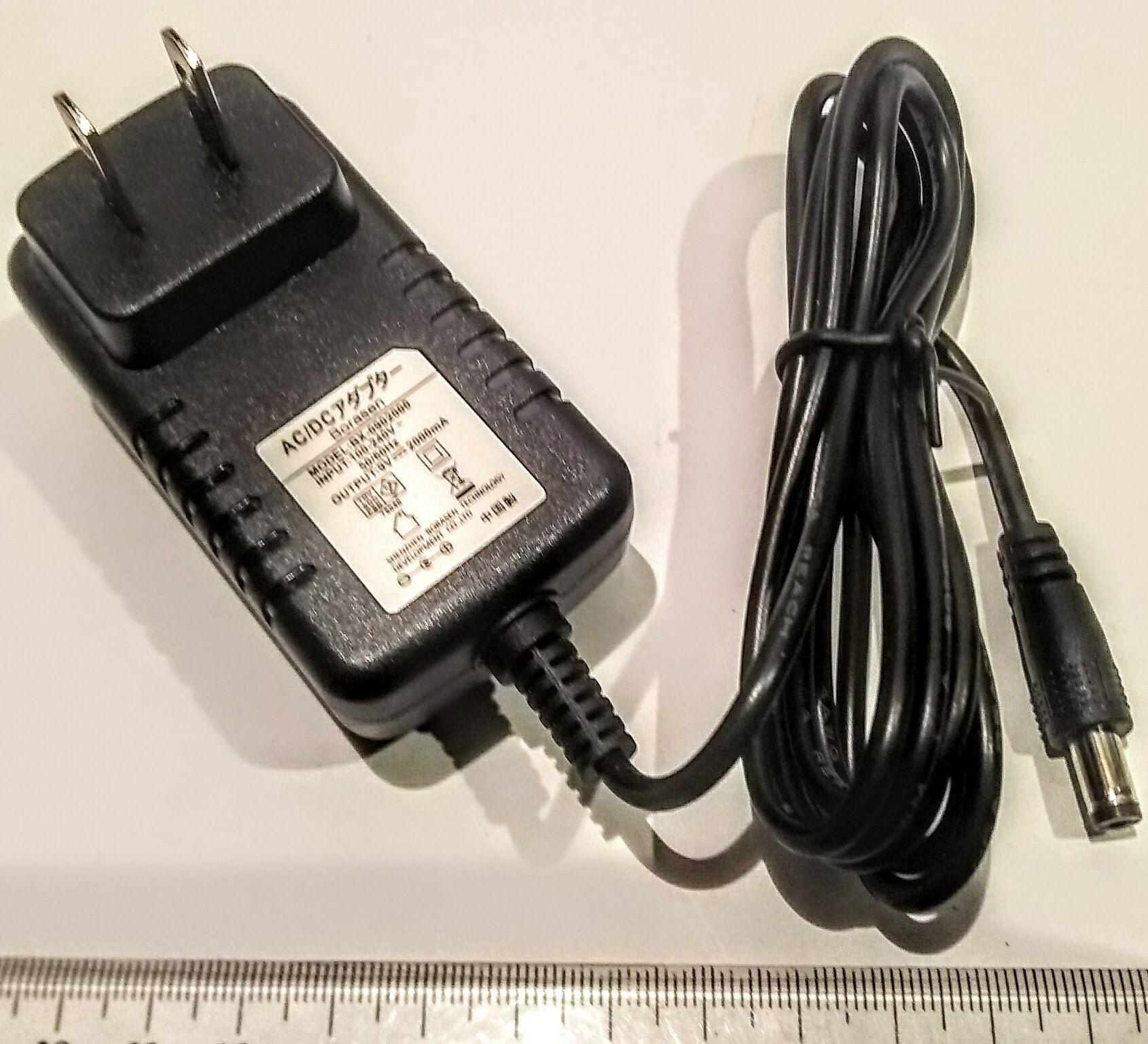 幅広い用途 ACアダプター 2A 数量は多 最新 9V