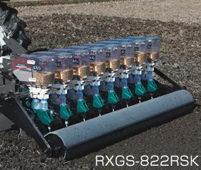 アグリテクノ矢崎 スライドロール式播種機(トラクタ用) RXGS-824RVK