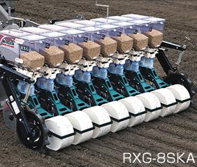 アグリテクノ矢崎 スライドロール式播種機(トラクタ用)  RXG-2SK