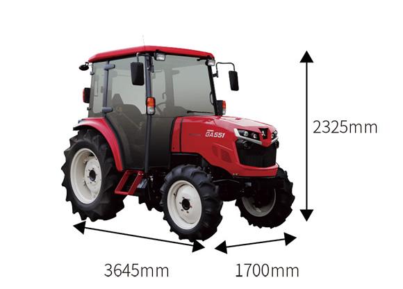 魅力的な価格 55馬力トラクター【GA551XUVQ2】, 救骨さん:2a4f5ad2 --- sturmhofman.nl