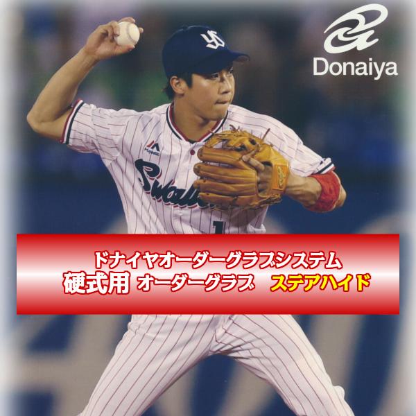 【ドナイヤ】【DONAIYA】硬式オーダー グラブ【ステアハイド】 (オーダー商品のため代引き不可)