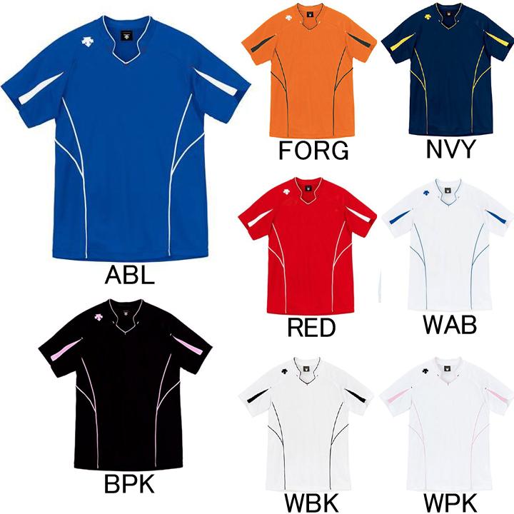 宅配便の送料無料・あす楽対応! デサント DESCENTE バレーボール 半袖ゲームシャツ DSS-4822 セール