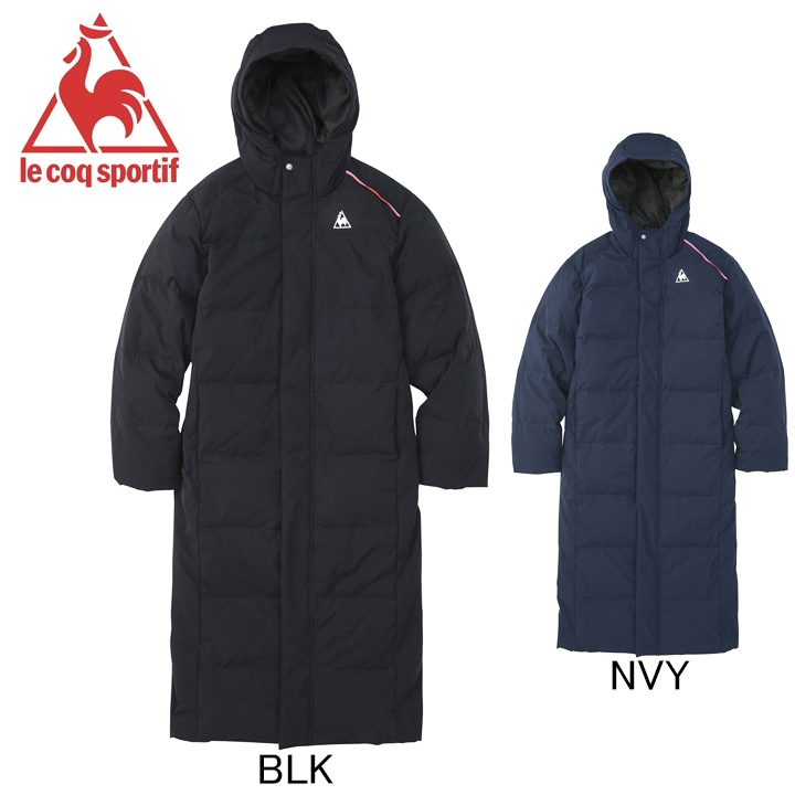 2020年秋冬モデル ルコック le coq sportif フード付 ロングダウンコート QMMQJK06 ベンチコート メンズ セール