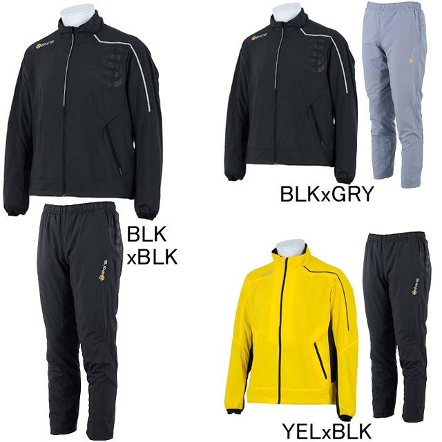 【SKINS】スキンズ ファンランニング ヒートナビ ウインドブレーカージャケット・パンツ上下セット SRF5402/P 裏メッシュ メンズ セール